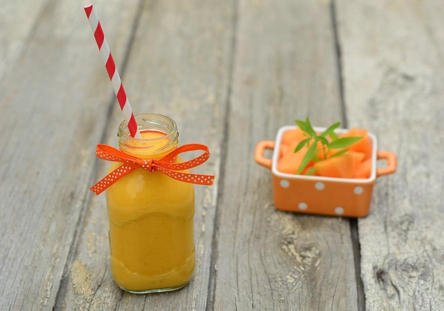smoothie melon mangue coco verveine