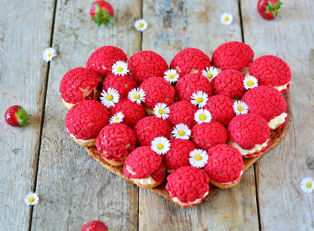 gâteau coeur fête des mères